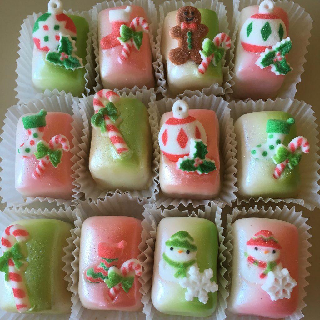 Christmas Petit Fours