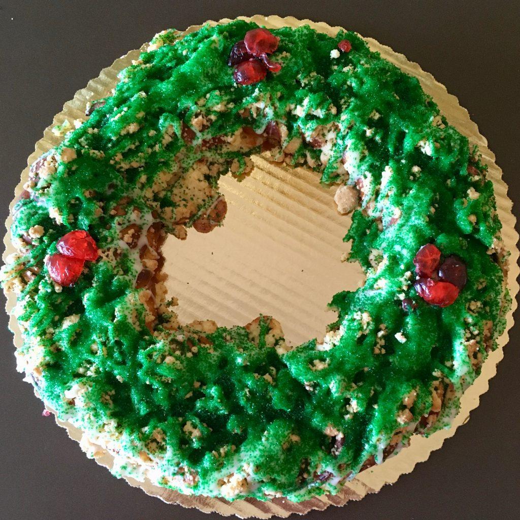 Christmas Wreath Coffeecake