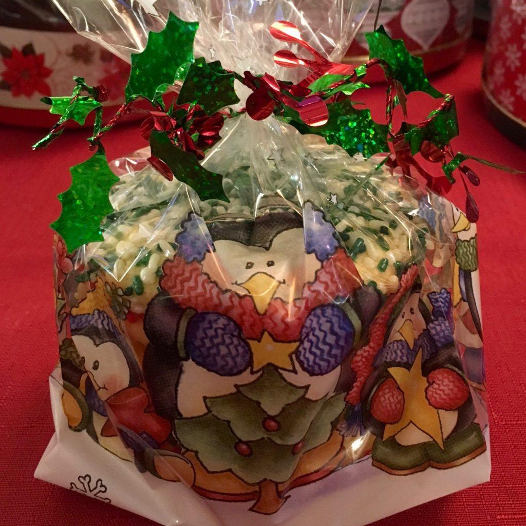 Christmas Sprinkle Cookie Bag
