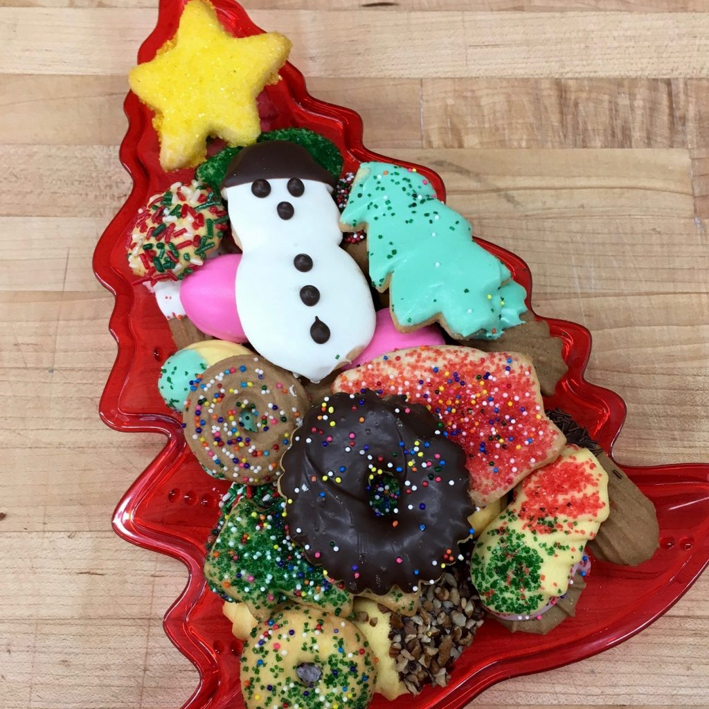 Christmas Tree Cookie Tray