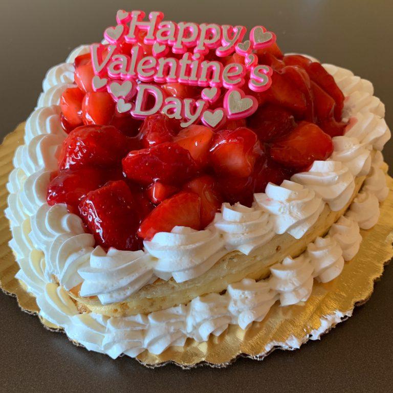 Strawberry Cheesecake Heart - Valentines Day