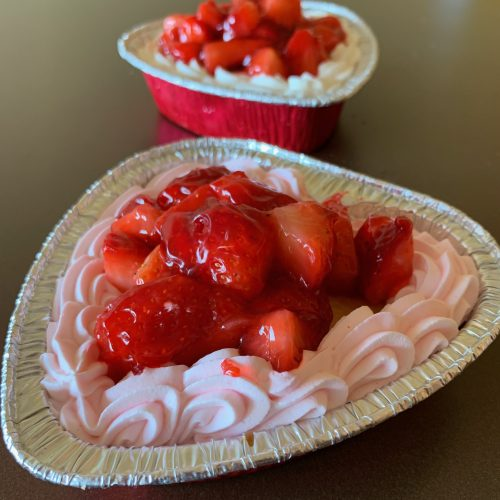 Mini Strawberry Shortcake Heart - Valentines Day