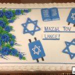 custom religious decorated cake bar mitzvah jewish