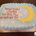 custom baby shower decorated cake twinkle twinkle little star