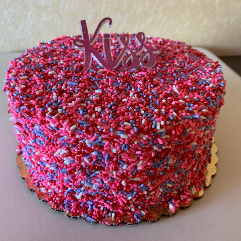 Sprinkle Cake - Valentine's Day 2020