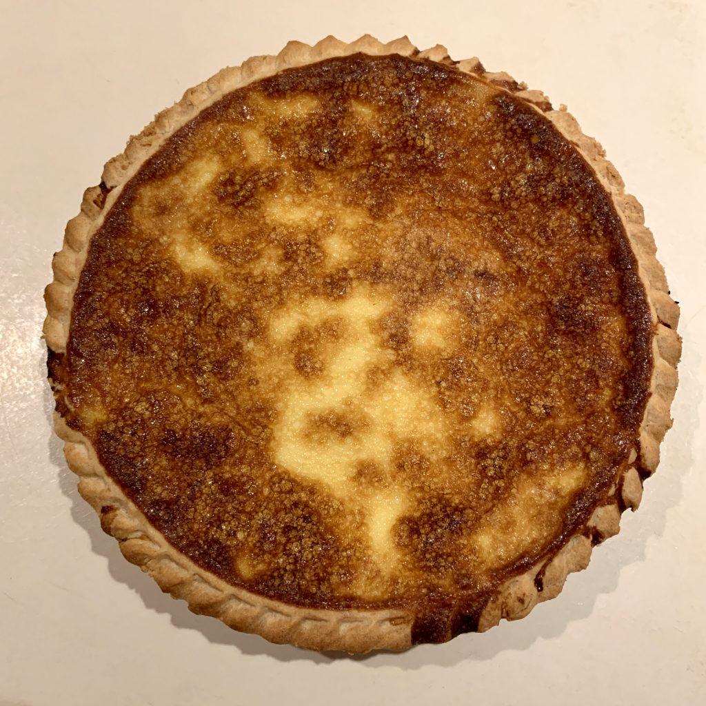 Baked Custard Pie