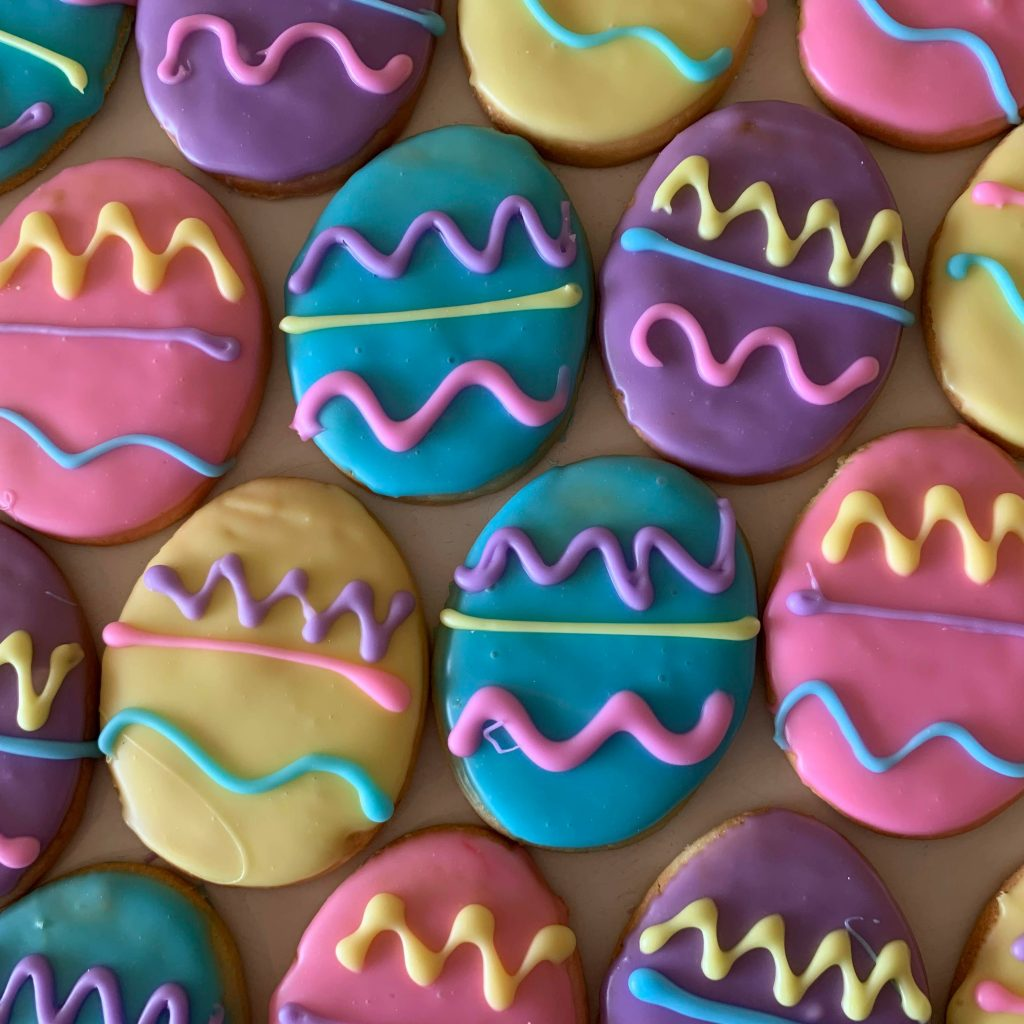 Easter Egg Cookies 2020