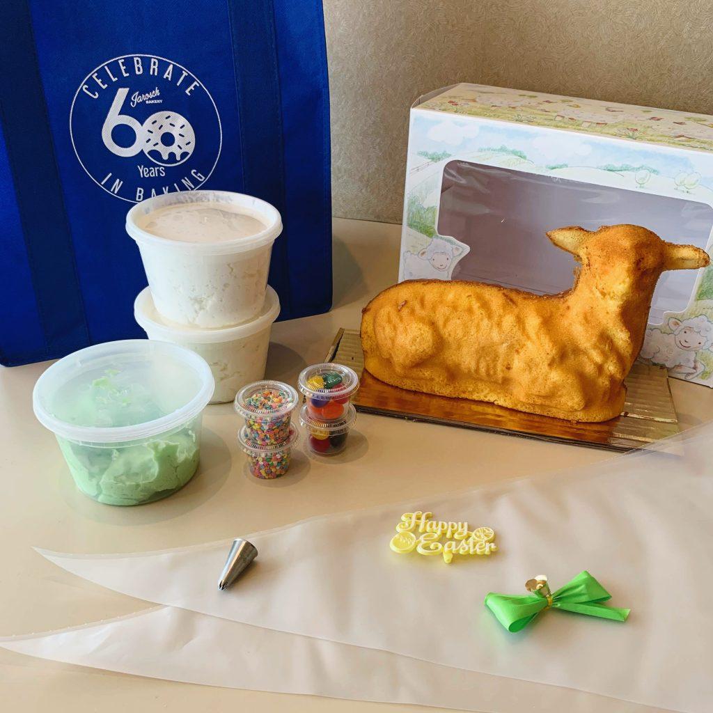 Easter Lamb Cake Kit 2020