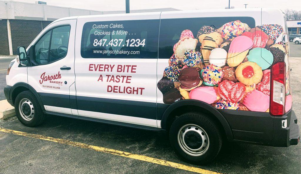 Jarosch Bakery Delivery Van