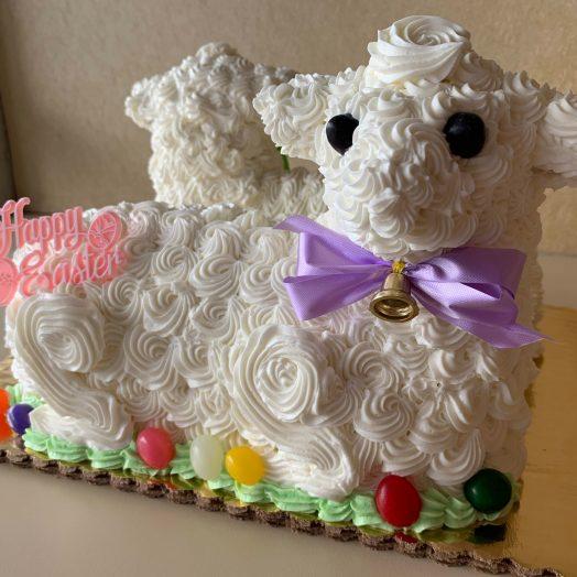Lamb Kit Cake Easter 2020