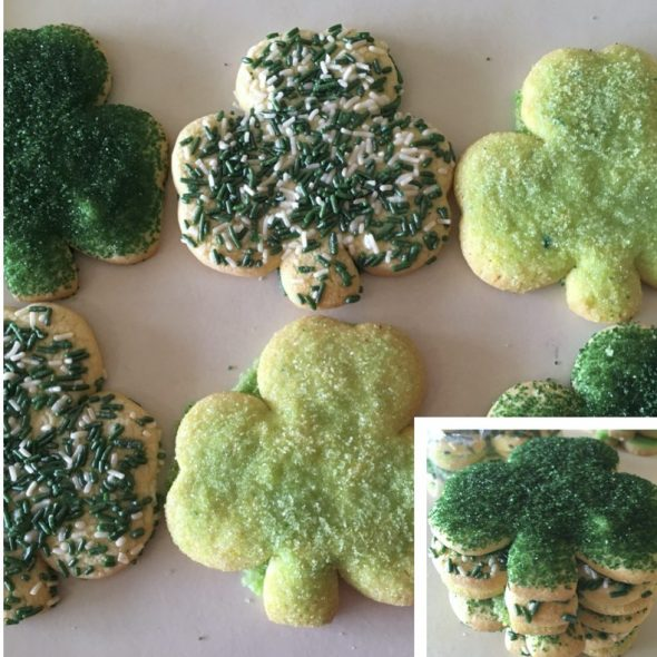 Shamrock Cookie Pack Photo for Website