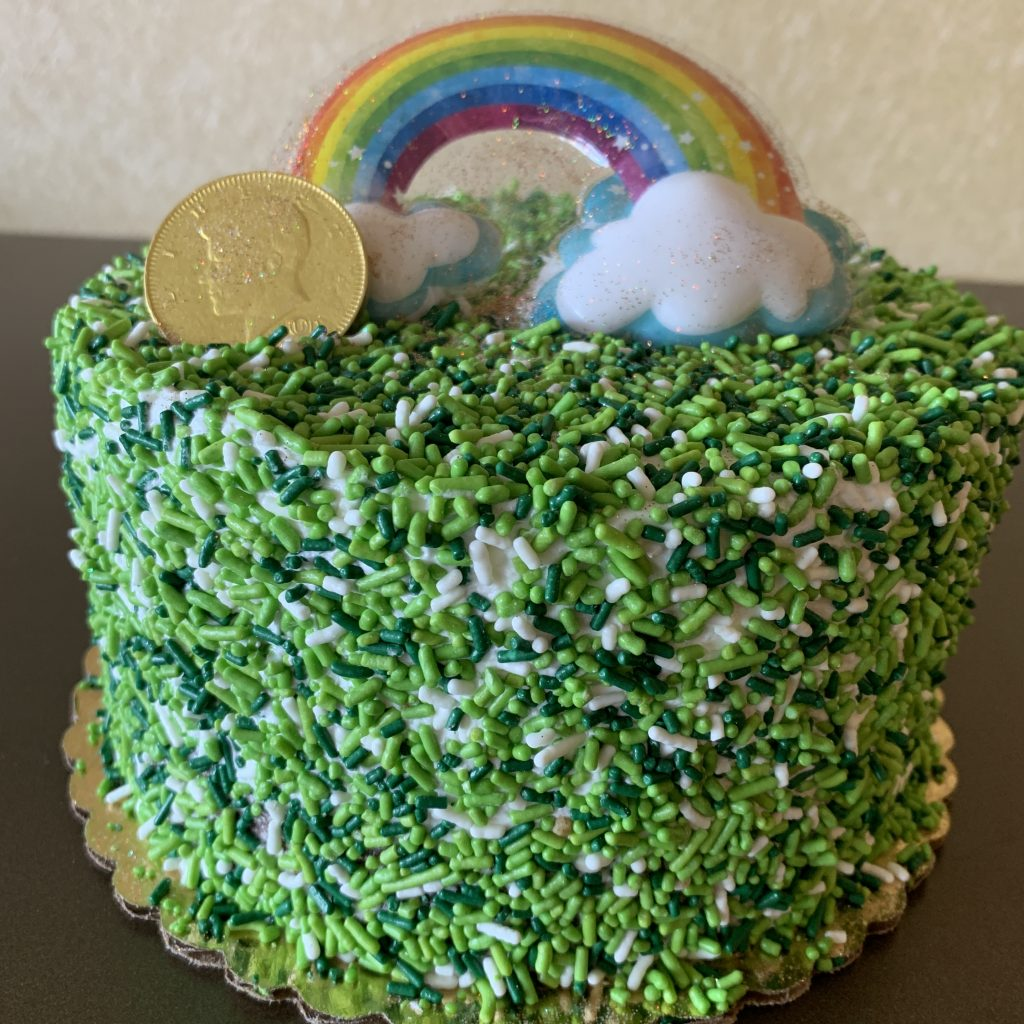 Sprinkle Cake - St. Pat's Day