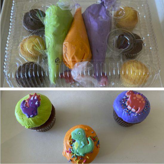 Dinosaur DIY Cupcake Kit