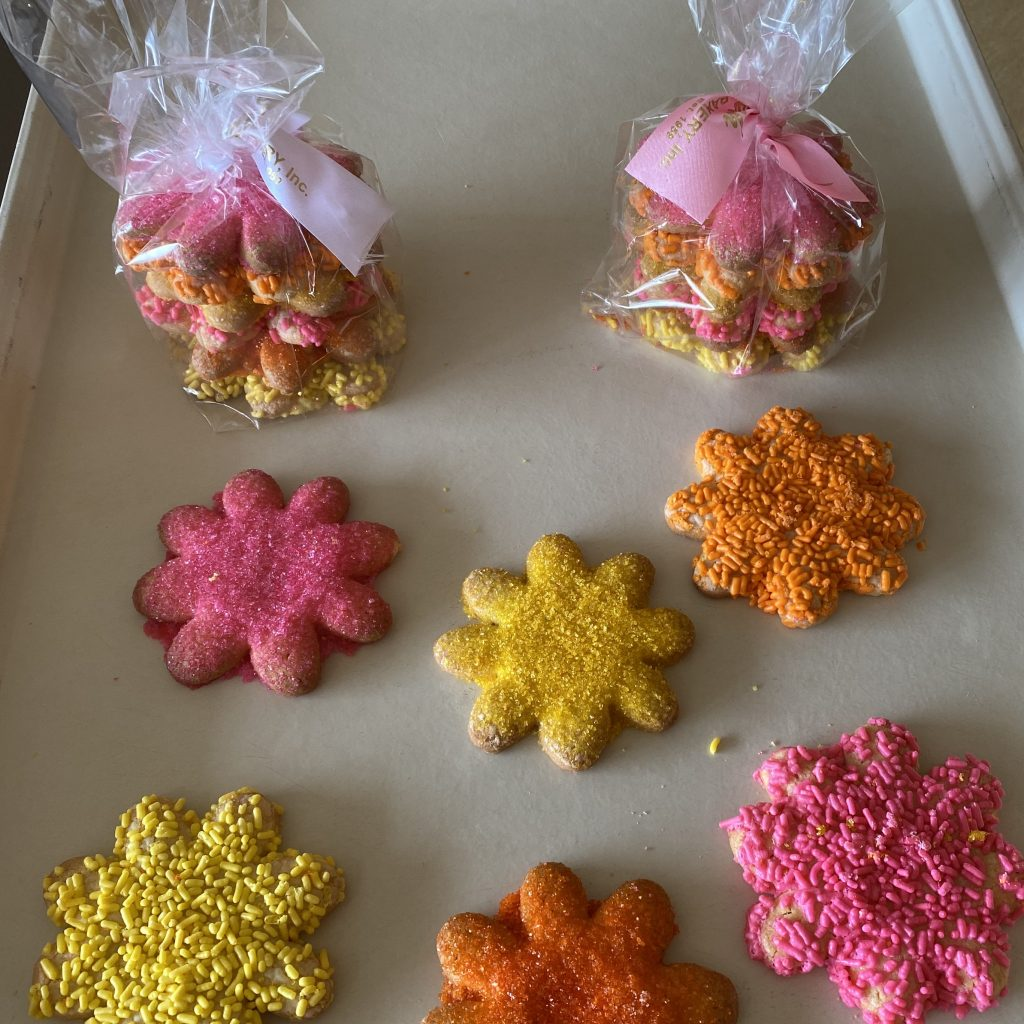 Flower Cookie Bag of 6 - Mother's Day 2020