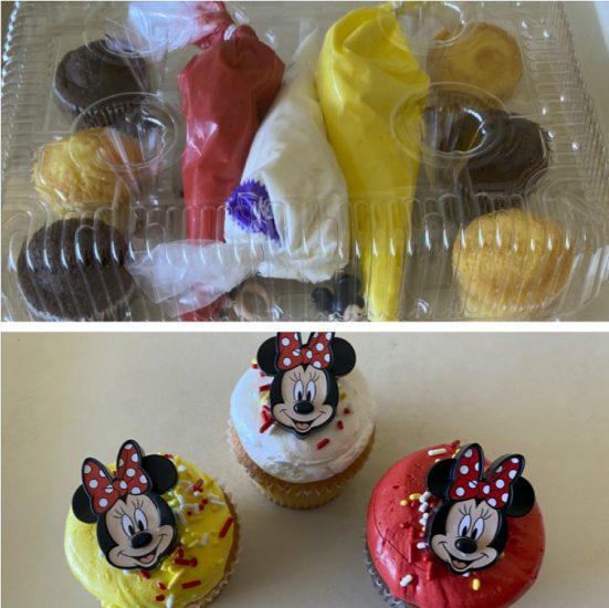 Minnie Mouse DIY Cupcake Kit