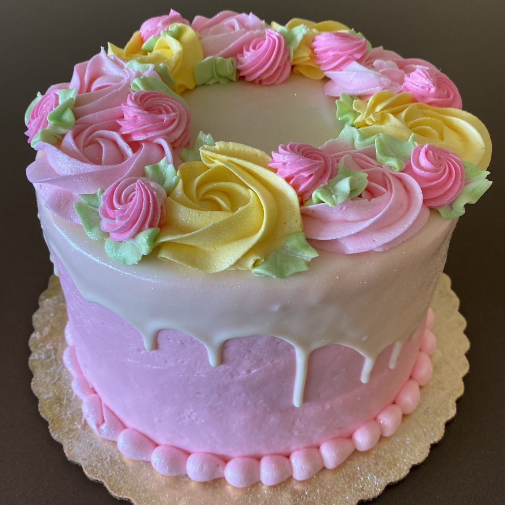 Mother's Day Centerpice Cake 2020