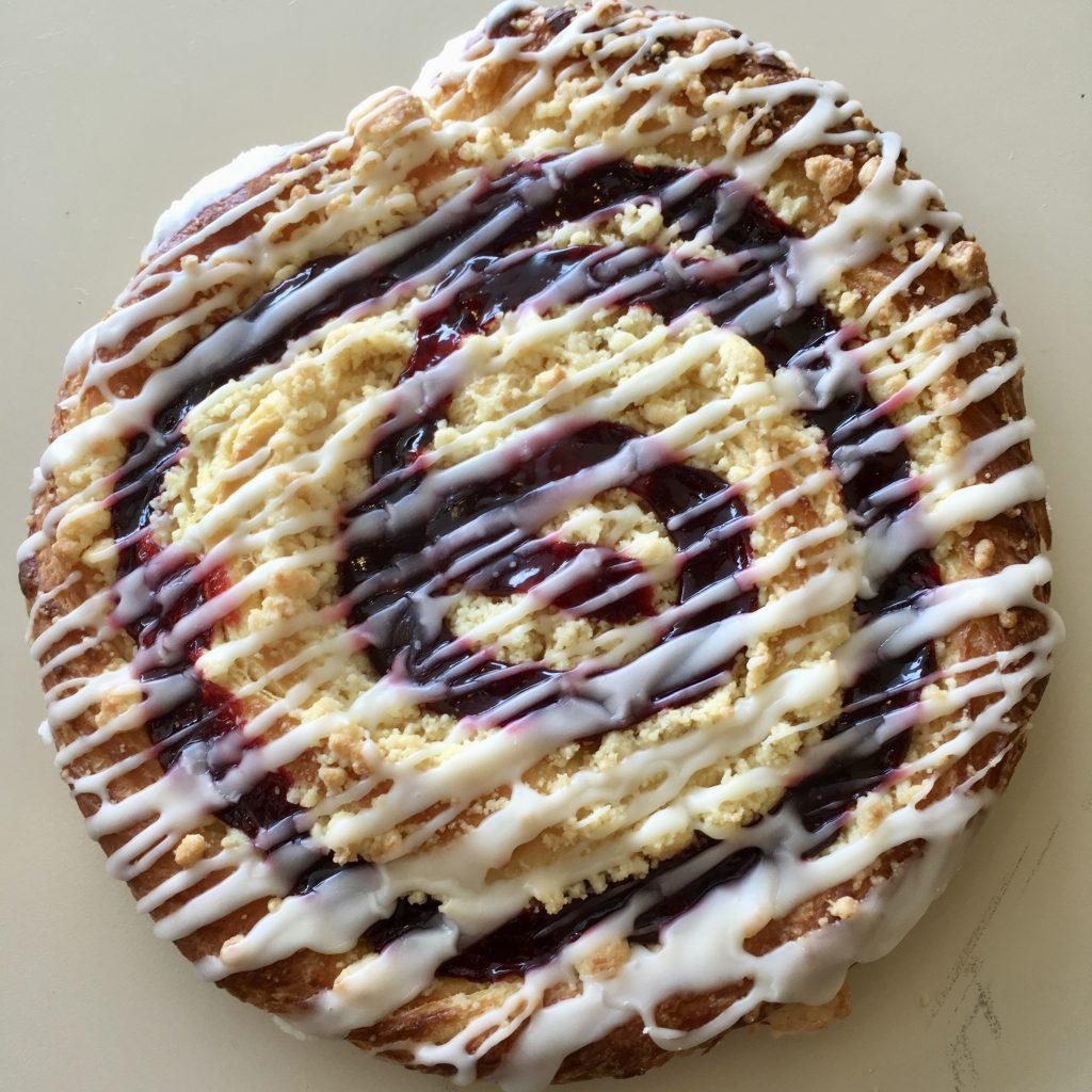 Apple Black Raspberry Ring Coffeecake