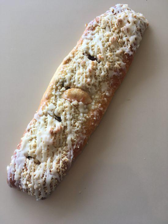 Apple Raisin Strip Coffeecake