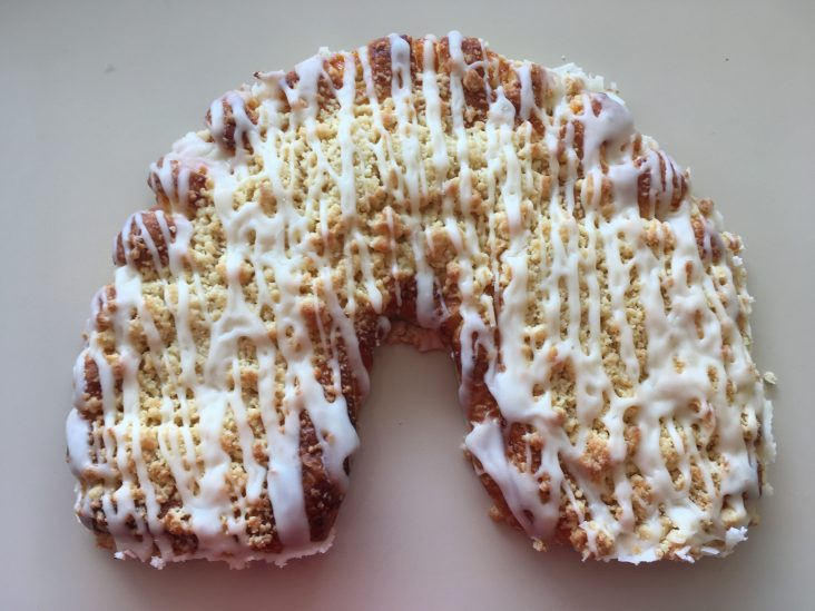Apricot Crescent Coffeecake