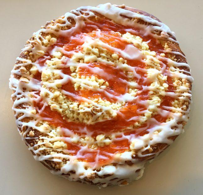 Apricot Ring Coffeecake
