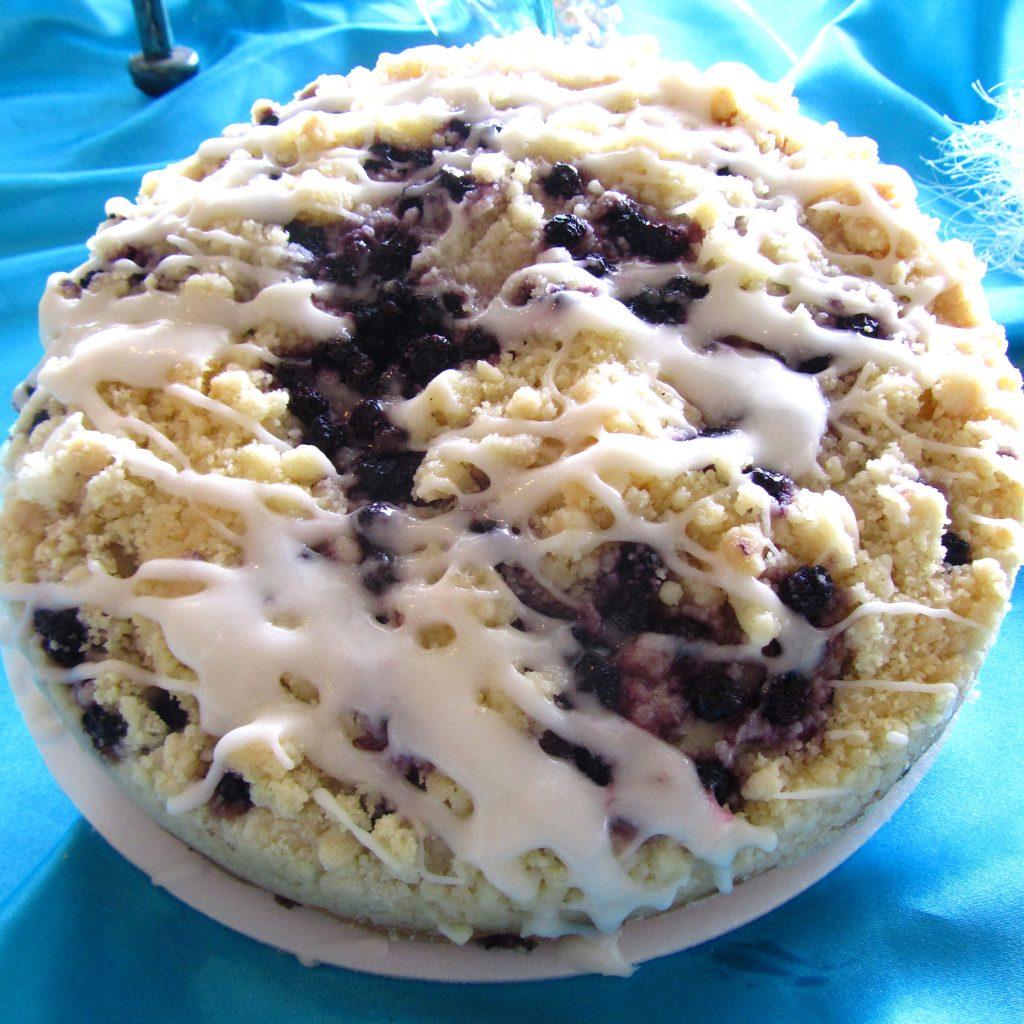 Blueberry Melody Coffeecake