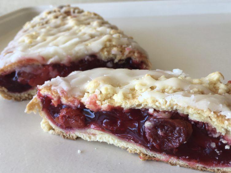 Cherry Strip Coffeecake