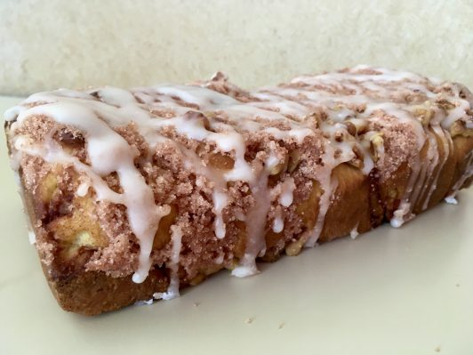 Cinnamon Nut Loaf Coffeecake