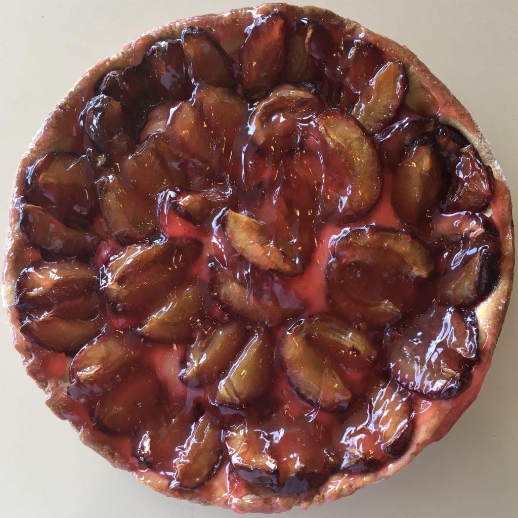 Plum Open Face - Glaze Coffeecake