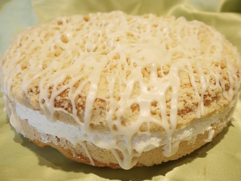 Streusel Filled Coffeecake
