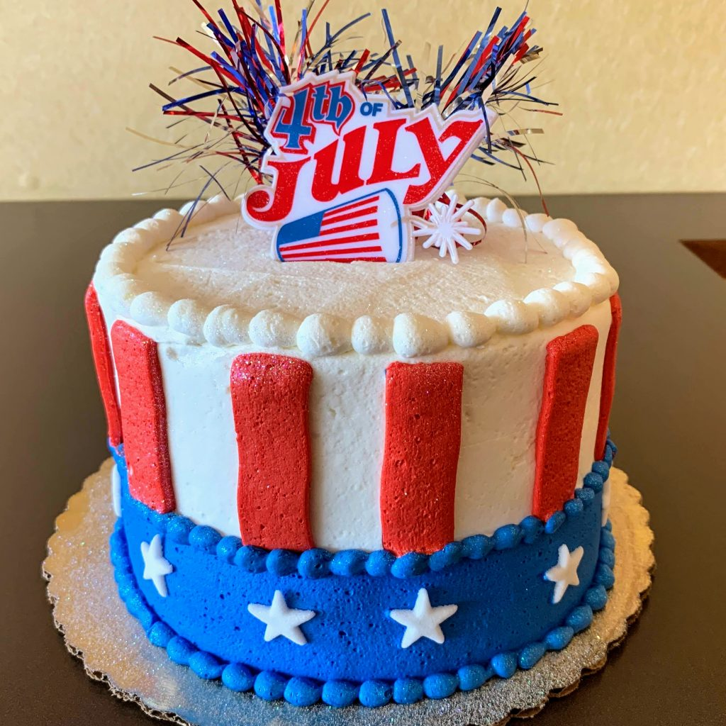 4th of July Cake 2020