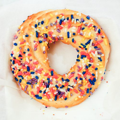 Butter Jumble Cookie - Sprinkle