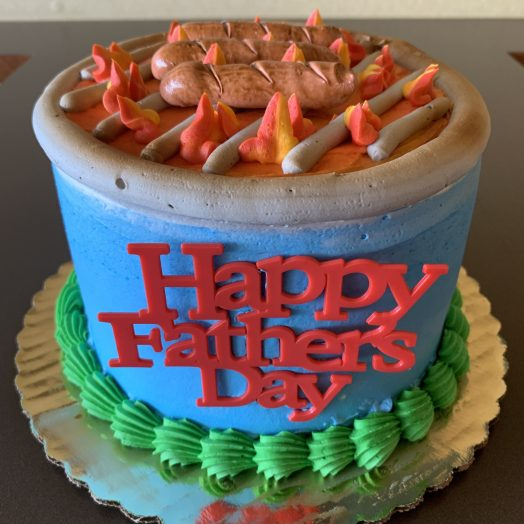 Franks on the Grill Cake Father's Day 2020