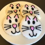 Iced Cookies - Cat Faces