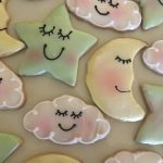 Iced Cookies - Moon, Star, Cloud