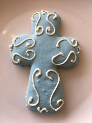 Iced Cookies - Cross