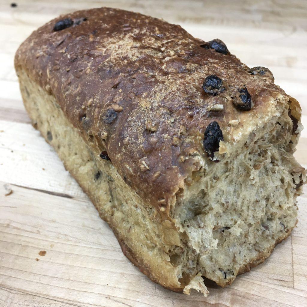 Pumpernickel Raisin Bread