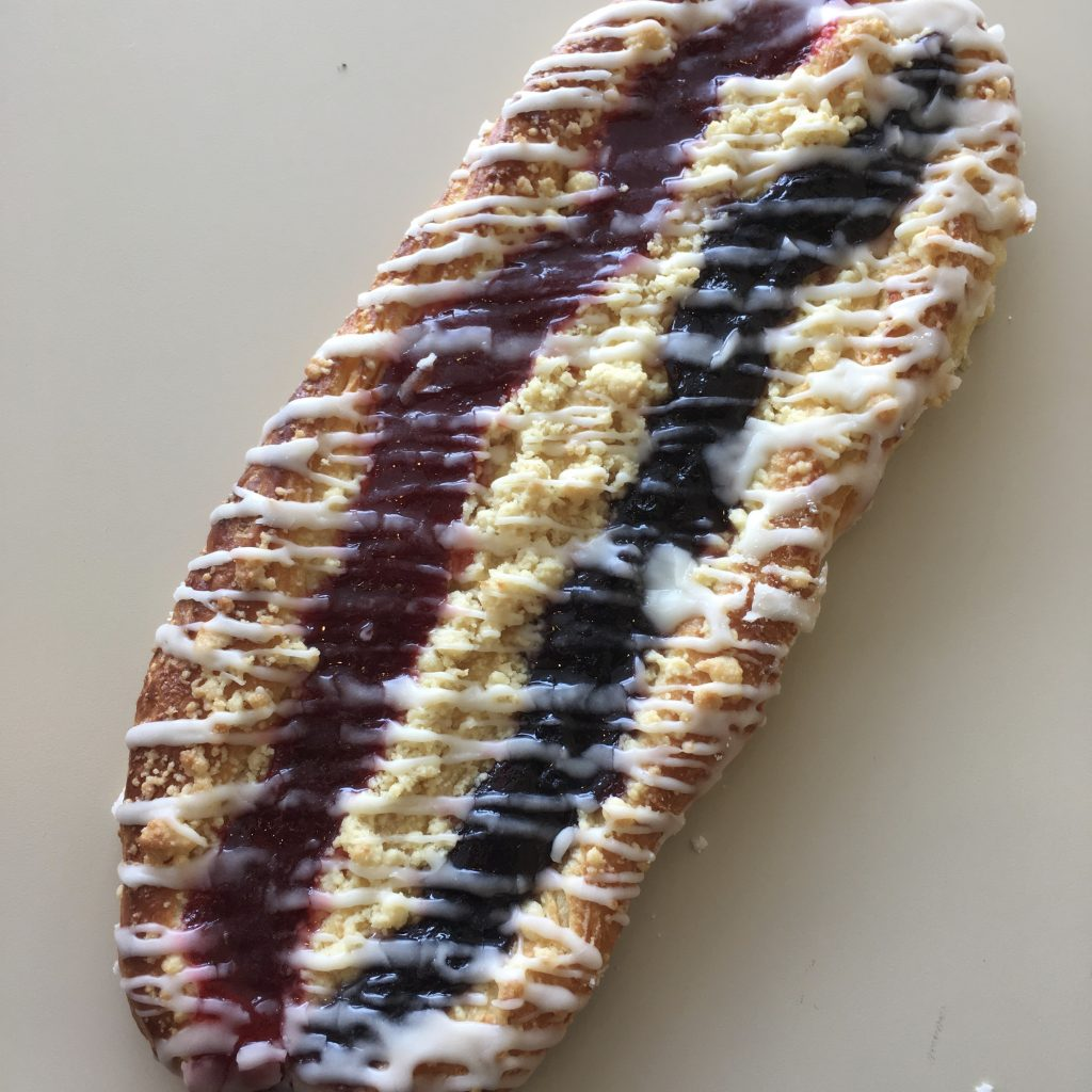 Strawberry Blueberry Strip