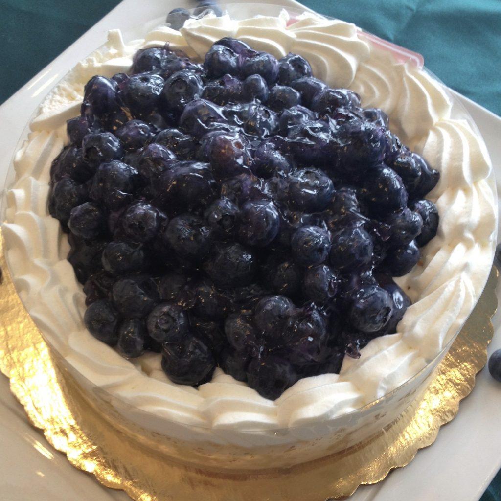 Fresh Blueberry Shortcake