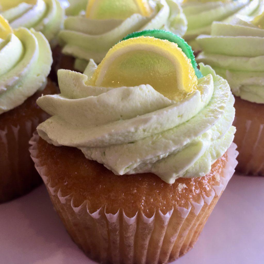 Lemon Lime Gourmet Cupcake