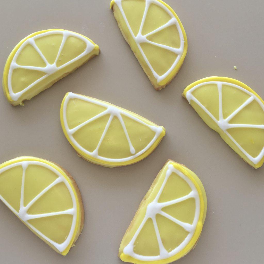 Iced Lemon Cookies - Slice of Summer