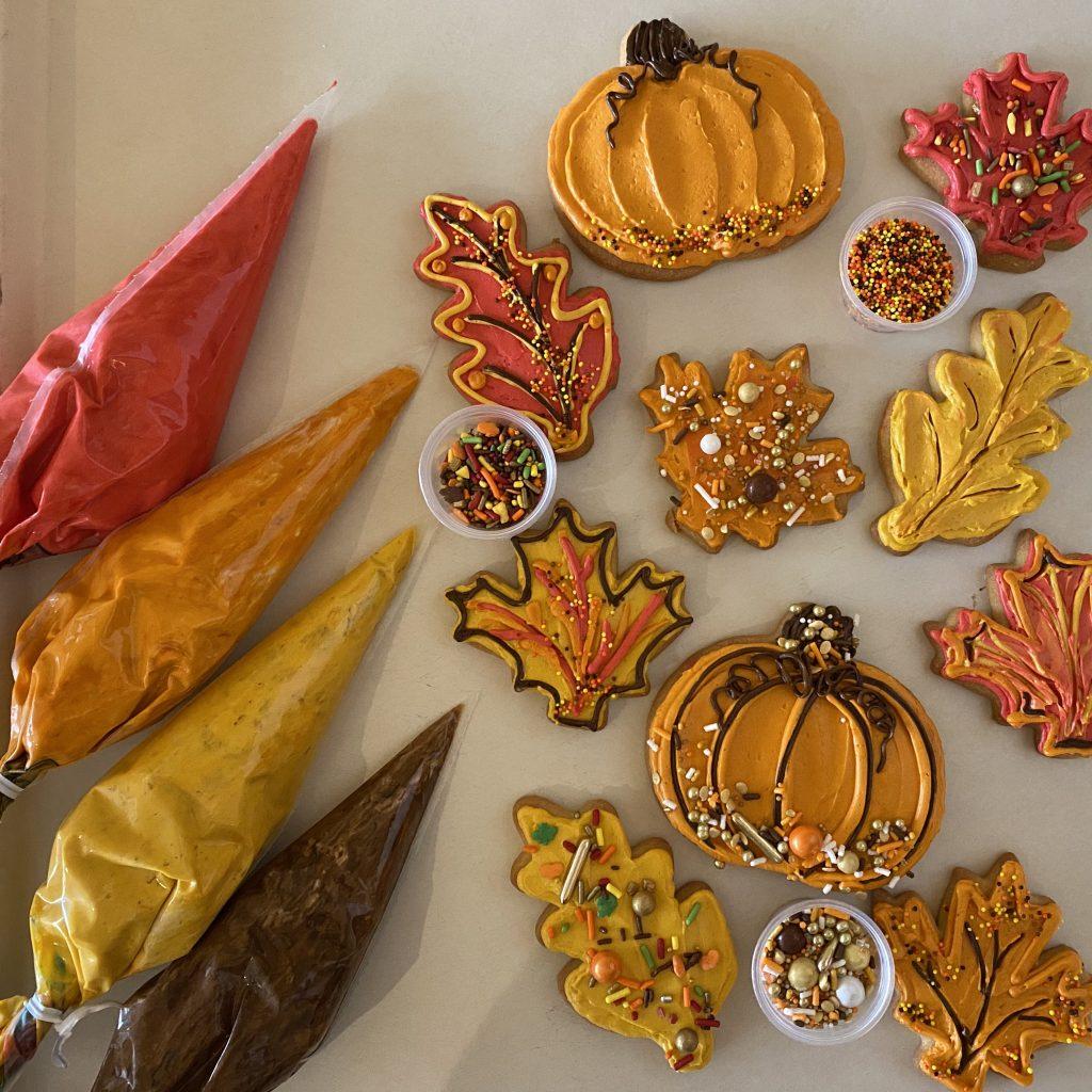 Autumn DIY Decorating Cookie Kit