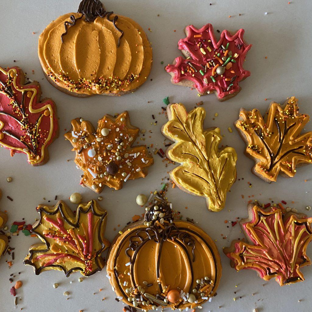 Autumn DIY Decorated Cookie Kit