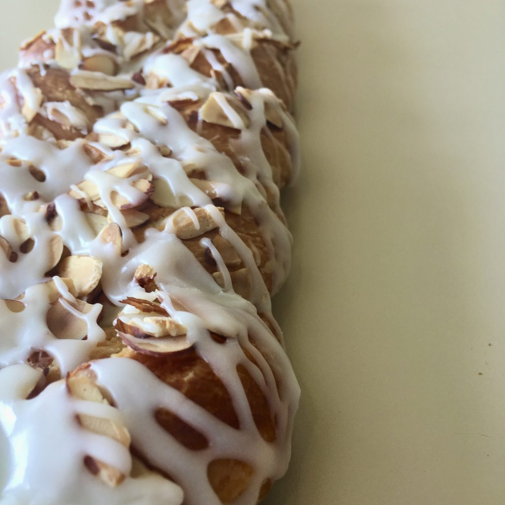 Almond Strip Coffeecake