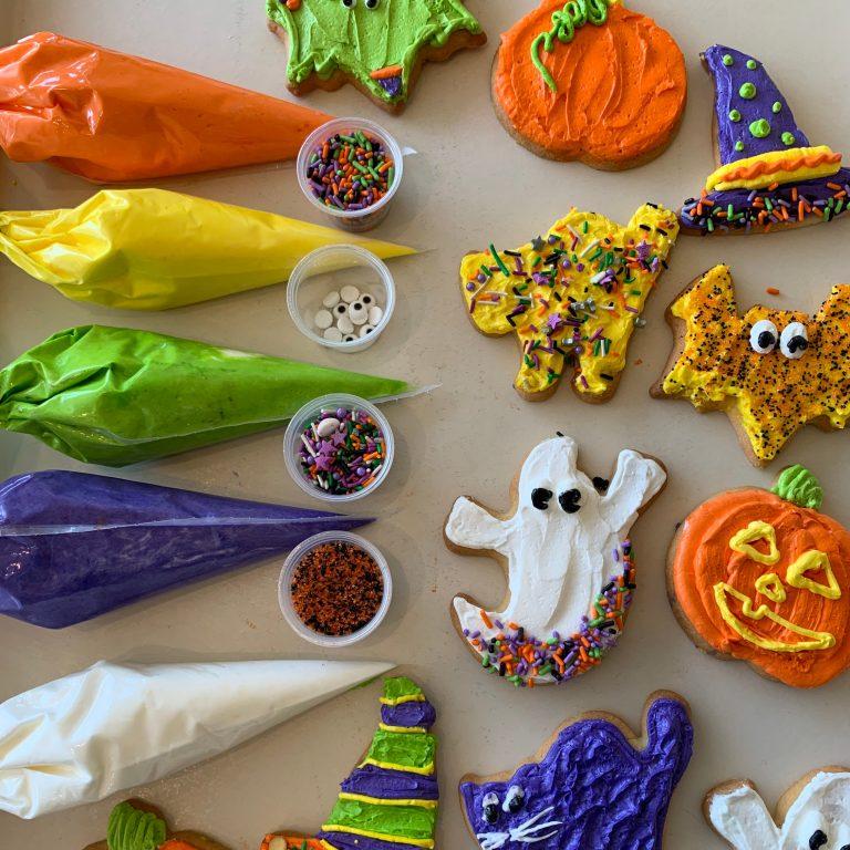 DIY Cookie Kit Halloween Cookies