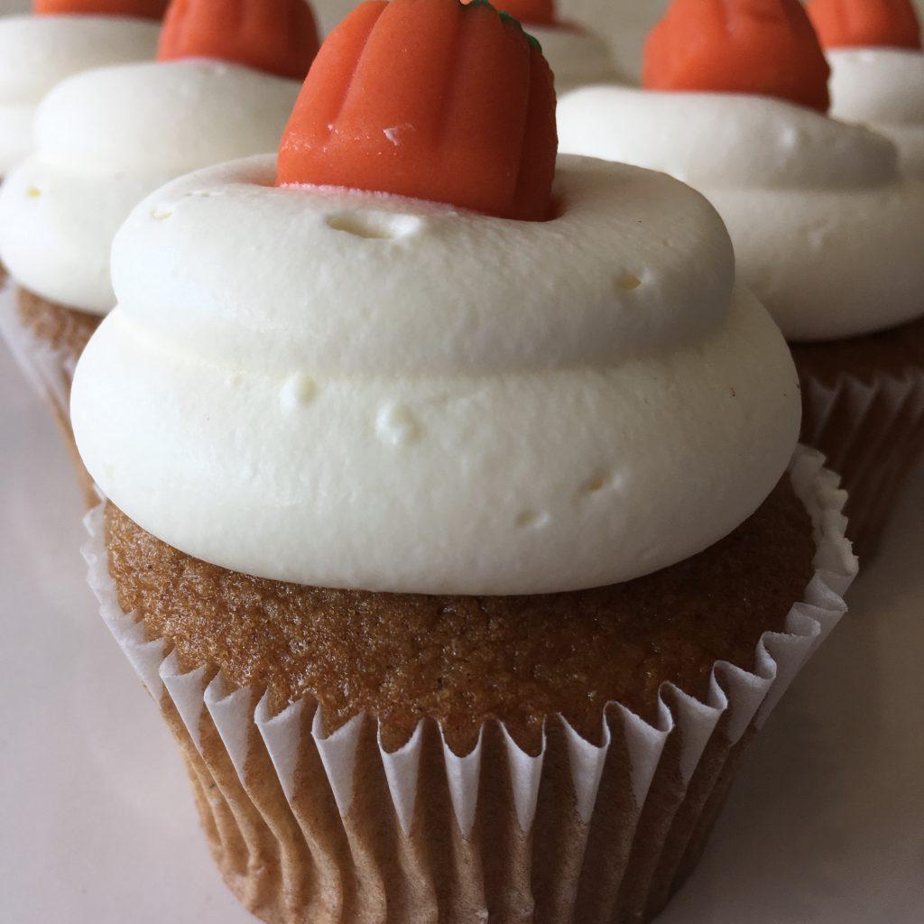Pumpkin Cheesecake Cupcake