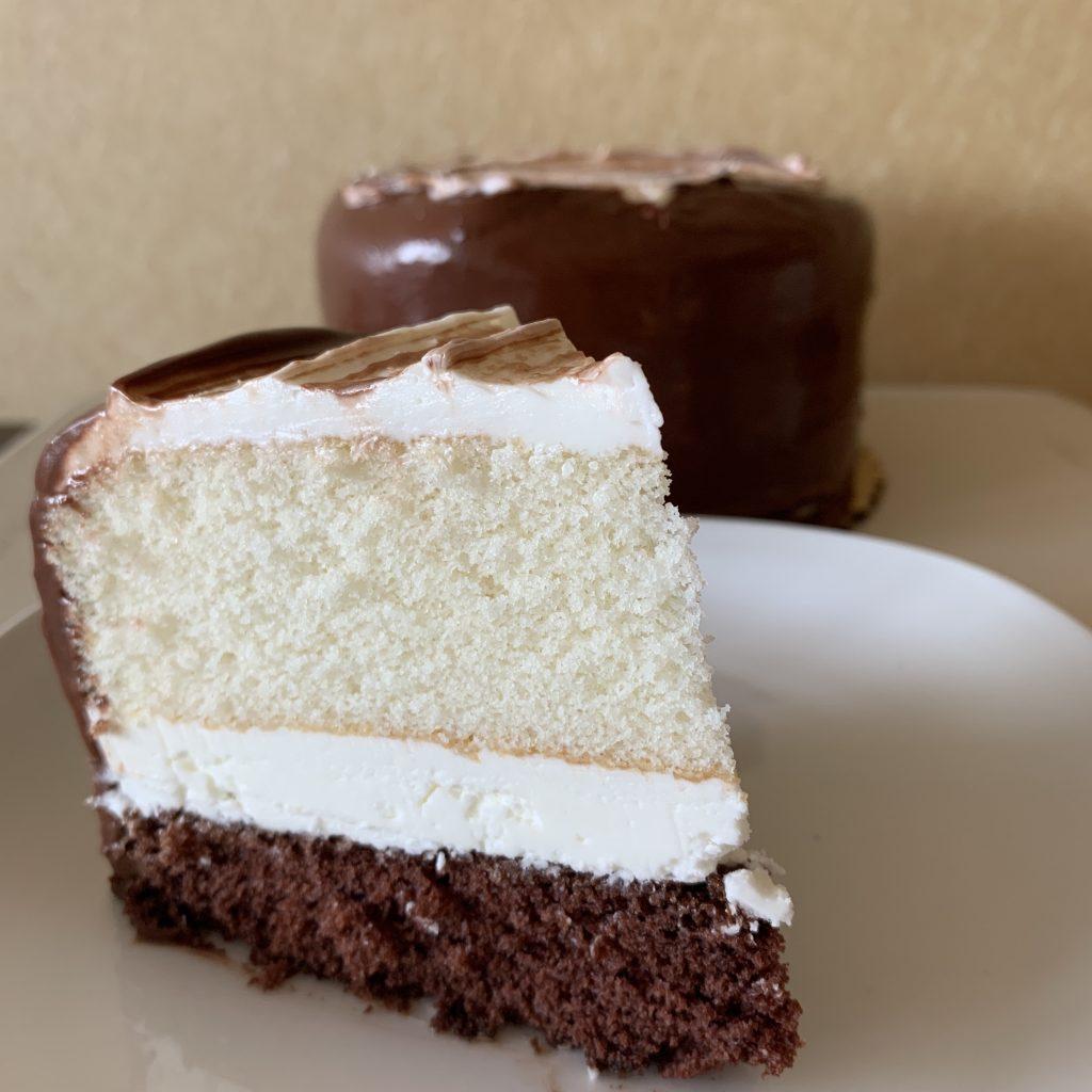Half & Half Layer Cake