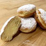 Custard Bismark - Powdered Sugar