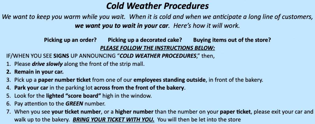 Cold Weather Procedures 2020 Website