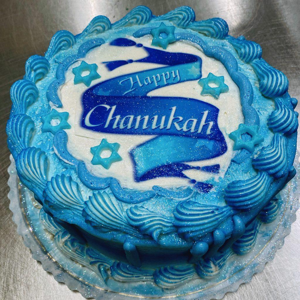 Hanukah Cake