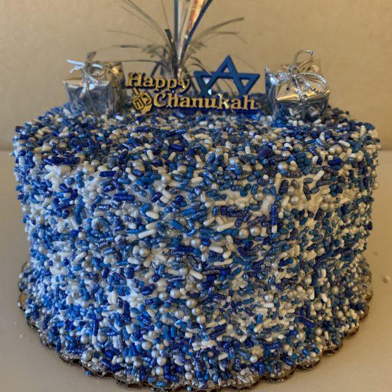 Sprinkle Cake - Hanukkah